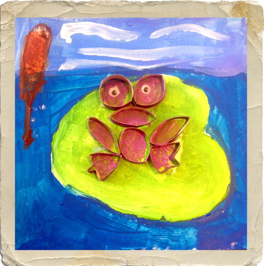 La grenouille (atelier du 11 mai 2016)