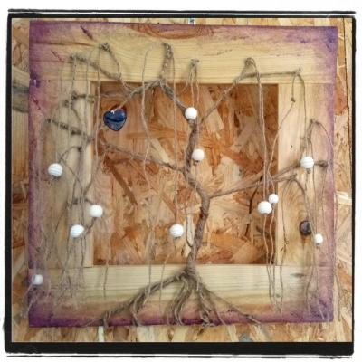 Séance d'Art Zen du 3 septembre 2017 - Sujet : l'attrape-rêve