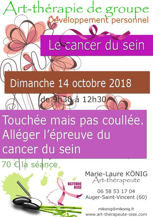 Art therapie de groupe dans l oise crepy en valois senlis le plessis belleville nanteuil le haudouin auger saint vincent le cancer du sein