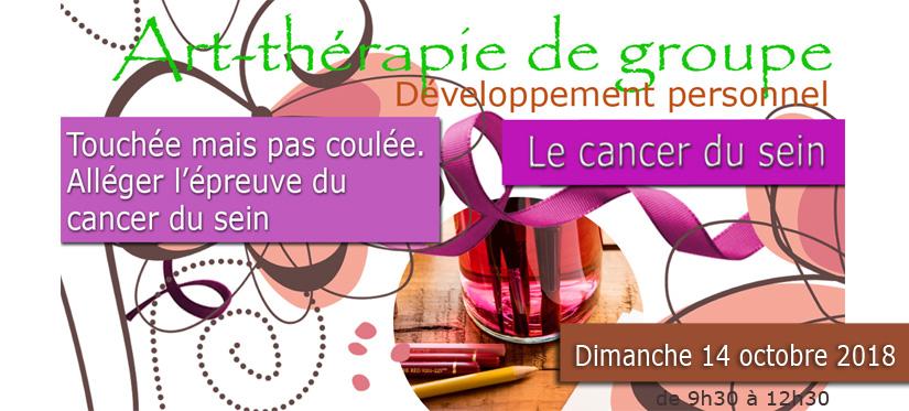 Art therapie de groupe oise crepy en valois senlis le plessis belleville nanteuil le haudoin developpement personnel loisirs creatifs le cancer du sein