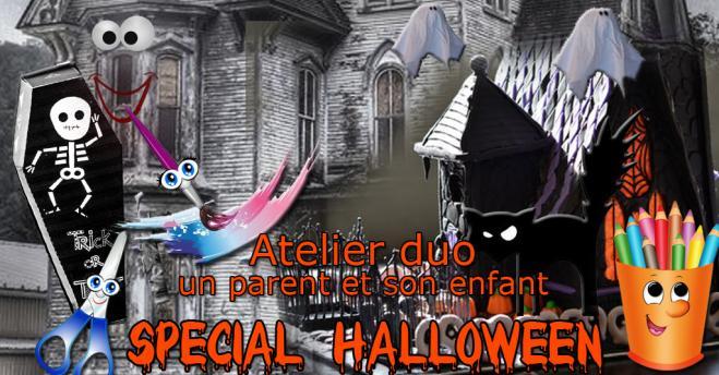 Atelier duo halloween