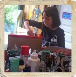 Cours de peinture et dessin enfant crepy en valois 1