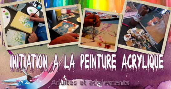 Evenement initiation acrylique fb