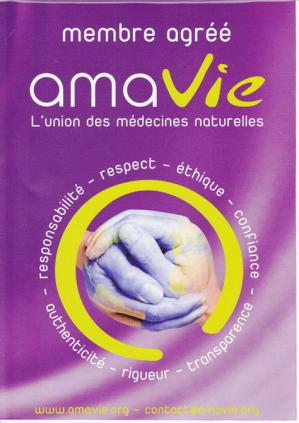 Membre agree amavie union des medecines naturelles