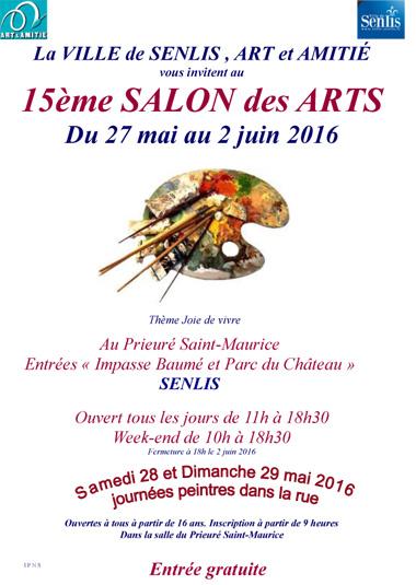 Salon des arts de senlis 2016 art et amitie